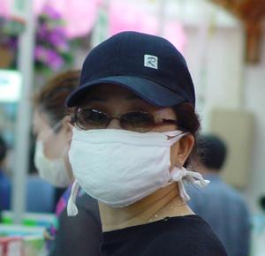 >随手::戴上口罩