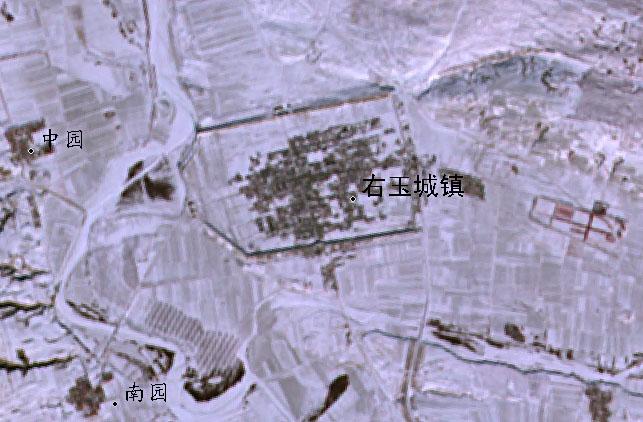 右玉城2001年1月