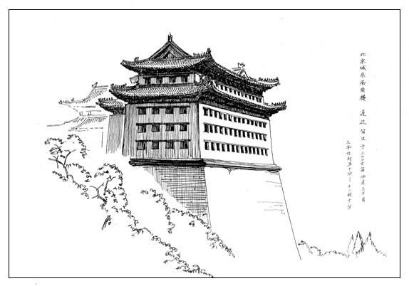 旅途速写———北京城东南角楼