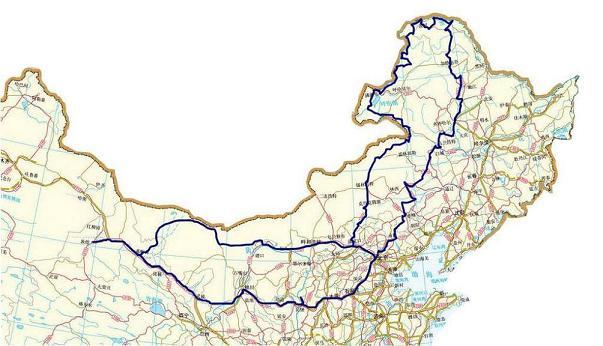 地图长城全图
