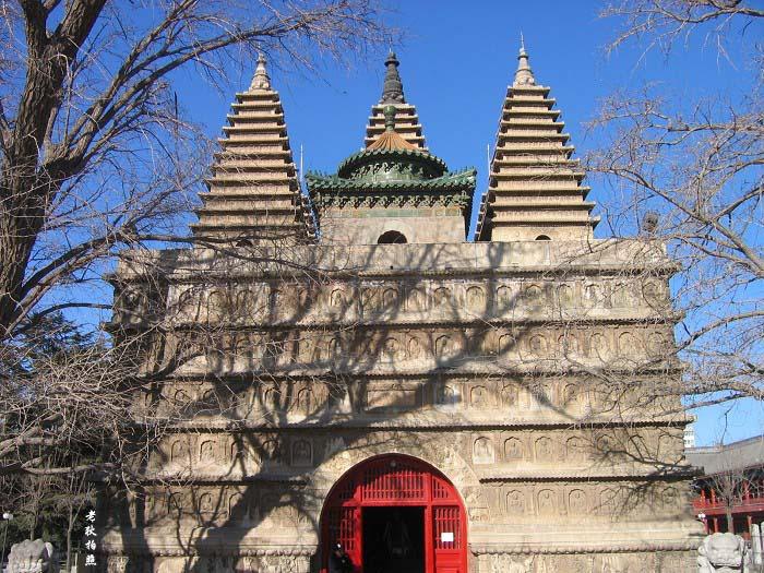 北京大正觉寺 金刚宝座塔