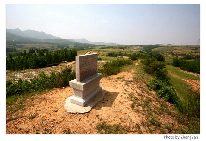 灵山卫地段齐长城所经过的徐山,是传说徐福东渡入海的地方,其西侧则有